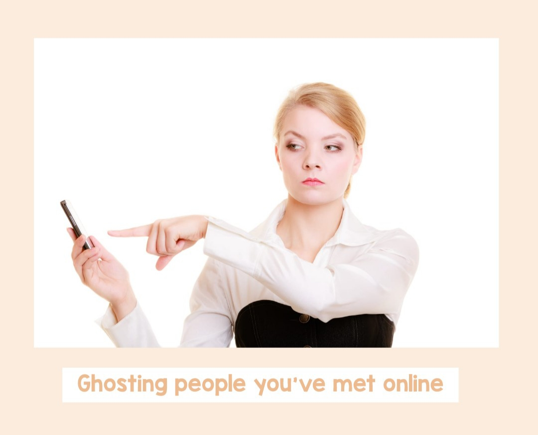 "Online Dating: What is ""Ghosting""? #ghosting #datingterminology #onlinedating"